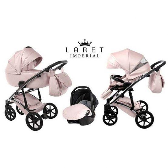 Carucior 3 in 1 Tako Baby Laret Imperial Pink