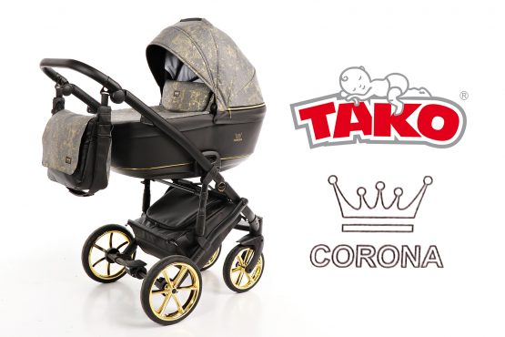 Carucior TaKo Baby CORONA GOLD 3in1