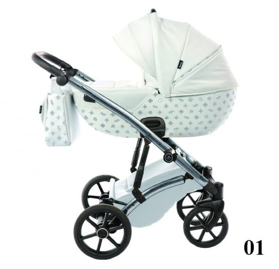 Carucior 3 in 1 Tako Baby LARET IMPERIAL White
