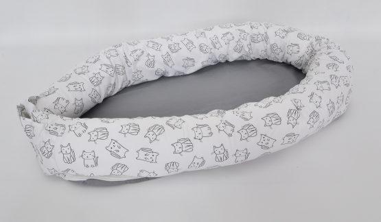 Baby Nest 3 in 1 CAT White – TinyTotsBebe