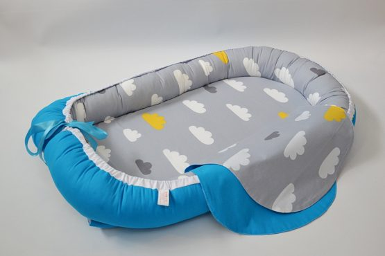 Baby Nest Norisori Blue Reversibil – TinyTotsBebe
