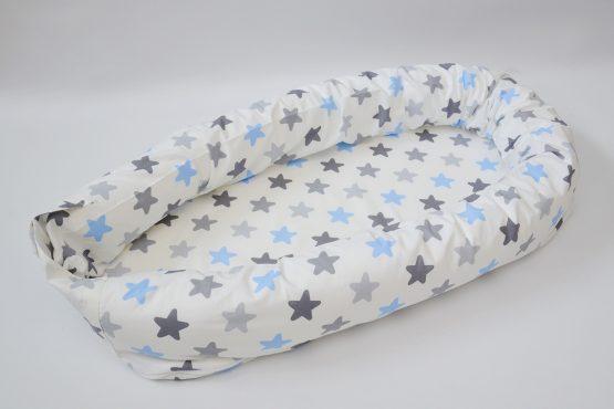 BabyNest 3 in 1 Blue&GreyStar