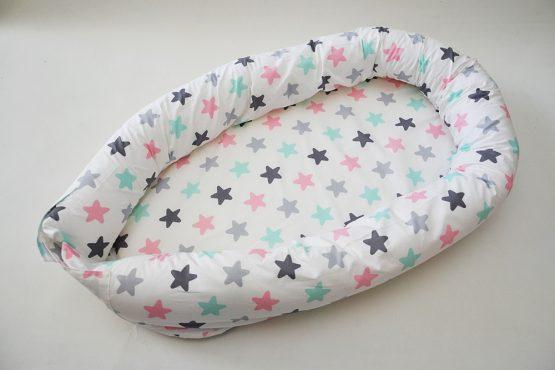 Baby Nest 3 in 1 MulticolorStar – TinyTotsBebe