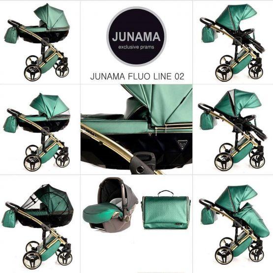 Junama Carucior Fluo Line Green