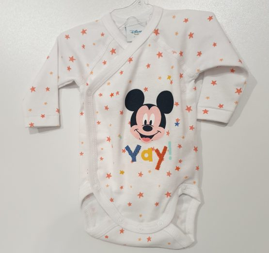 Body bebe NN ML Mickey Mouse stars